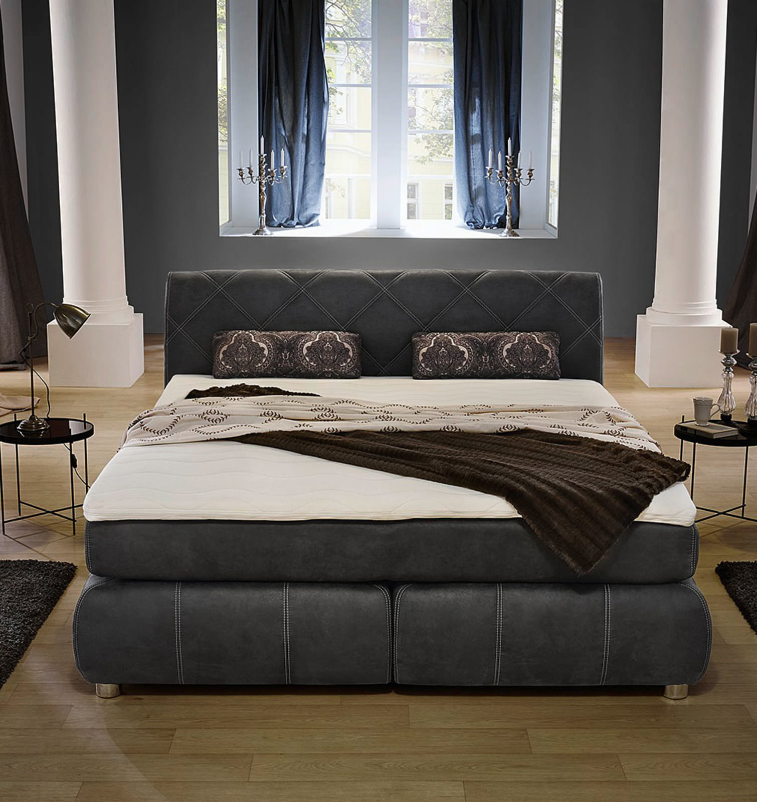 boxspringbett 180 online entdecken schaffrath ihr m belhaus. Black Bedroom Furniture Sets. Home Design Ideas