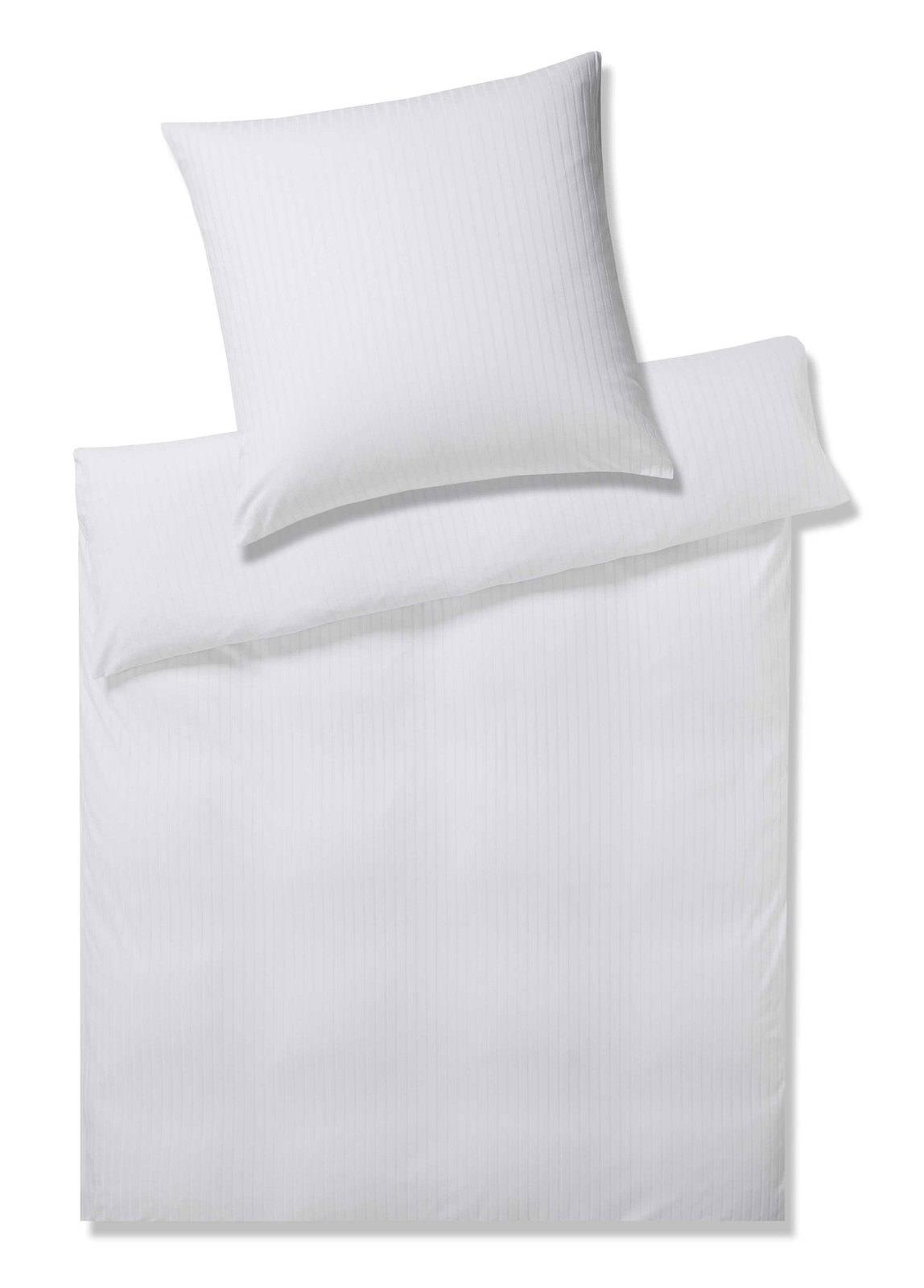 Elegante Mako Jersey Bettwäsche Weiß Online Entdecken Schaffrath