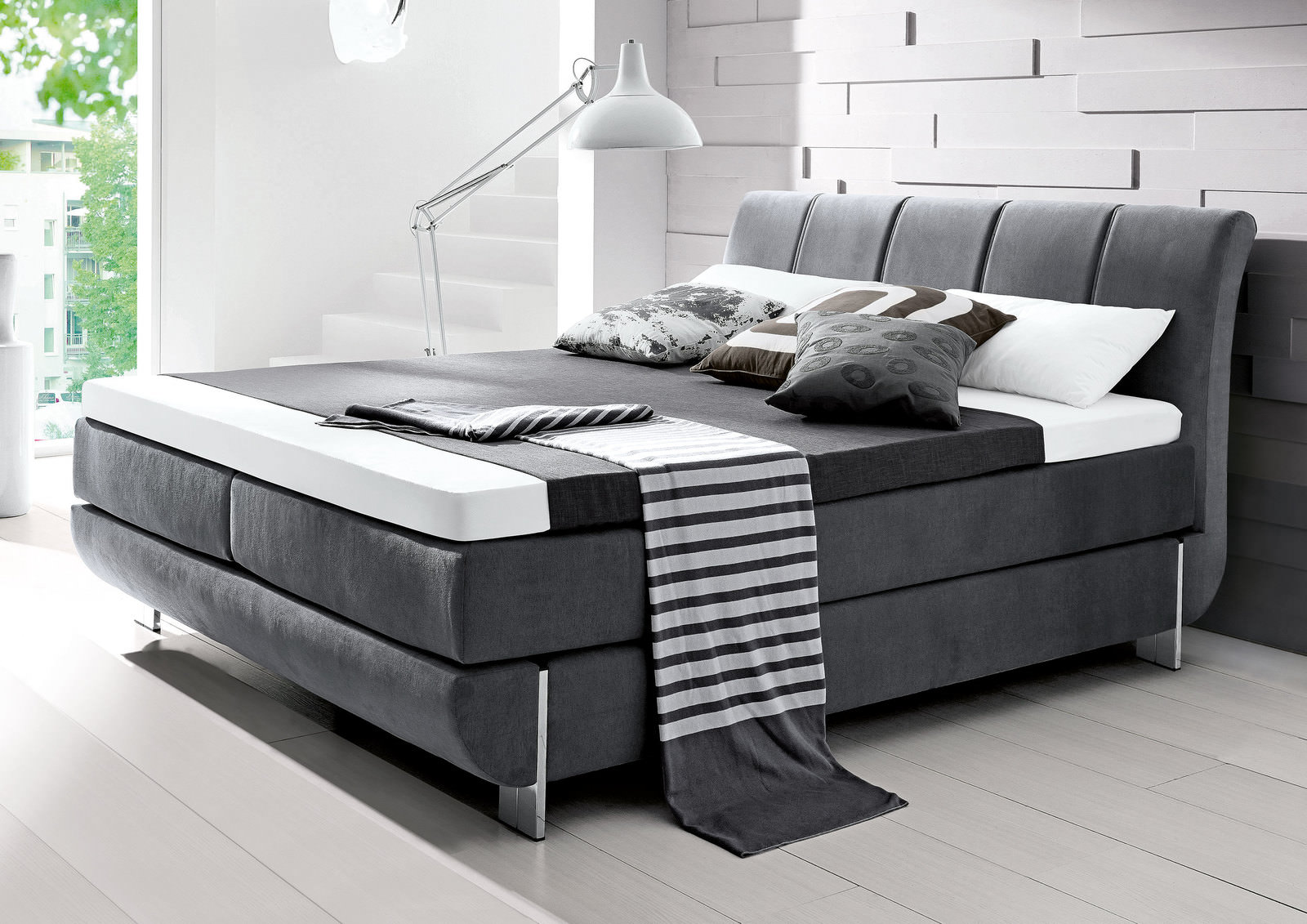 Boxspring Bett. Amazing Full Size Of Home Design Gerumiges Home ...