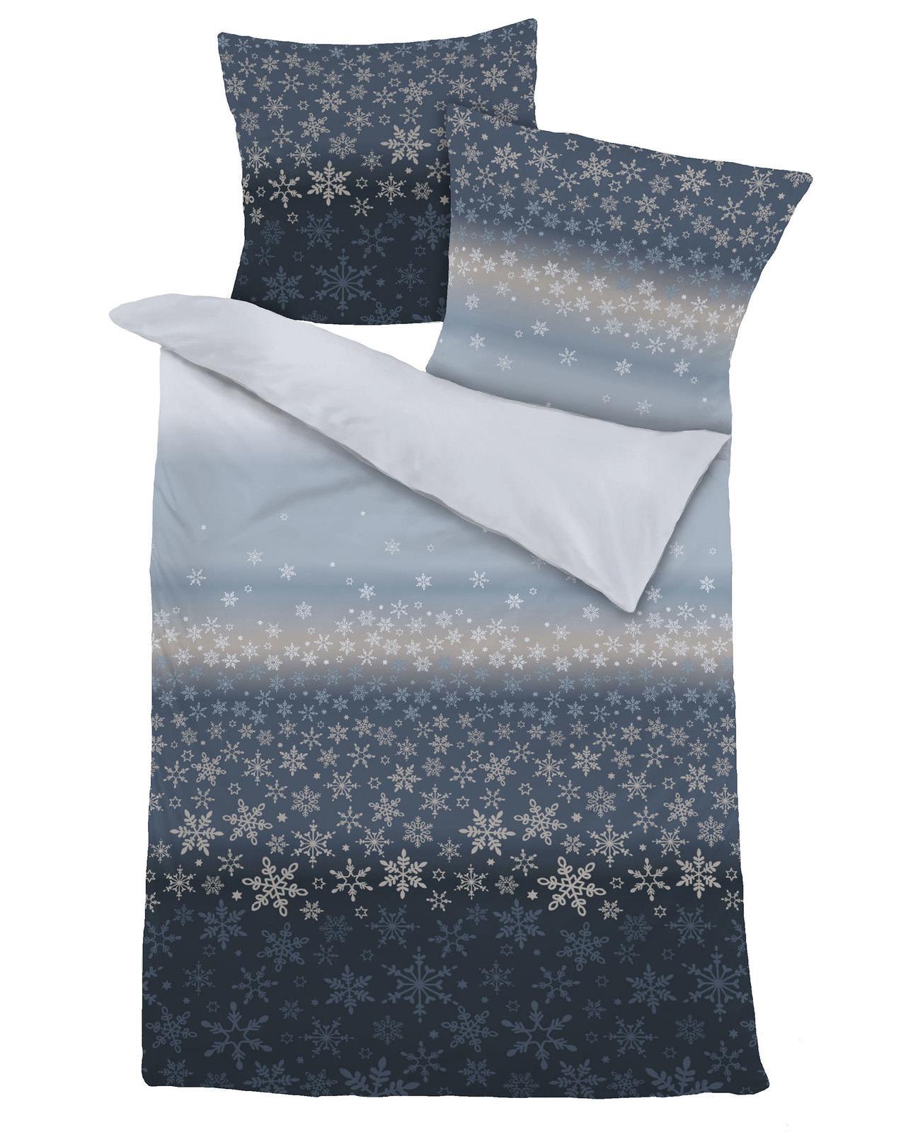 Dormisette Dormisette Biber Bettwäsche Blau Online Entdecken
