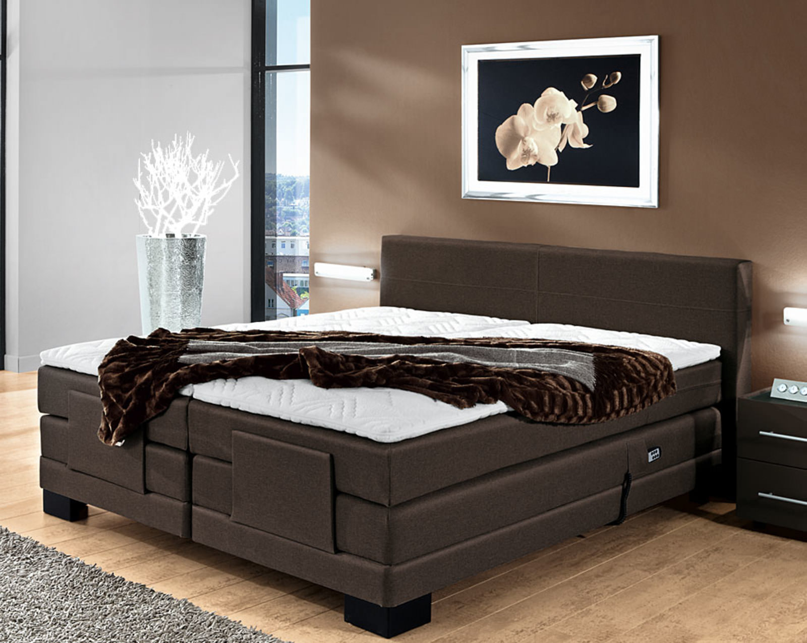 boxspringbett online entdecken knuffmann ihr m belhaus. Black Bedroom Furniture Sets. Home Design Ideas