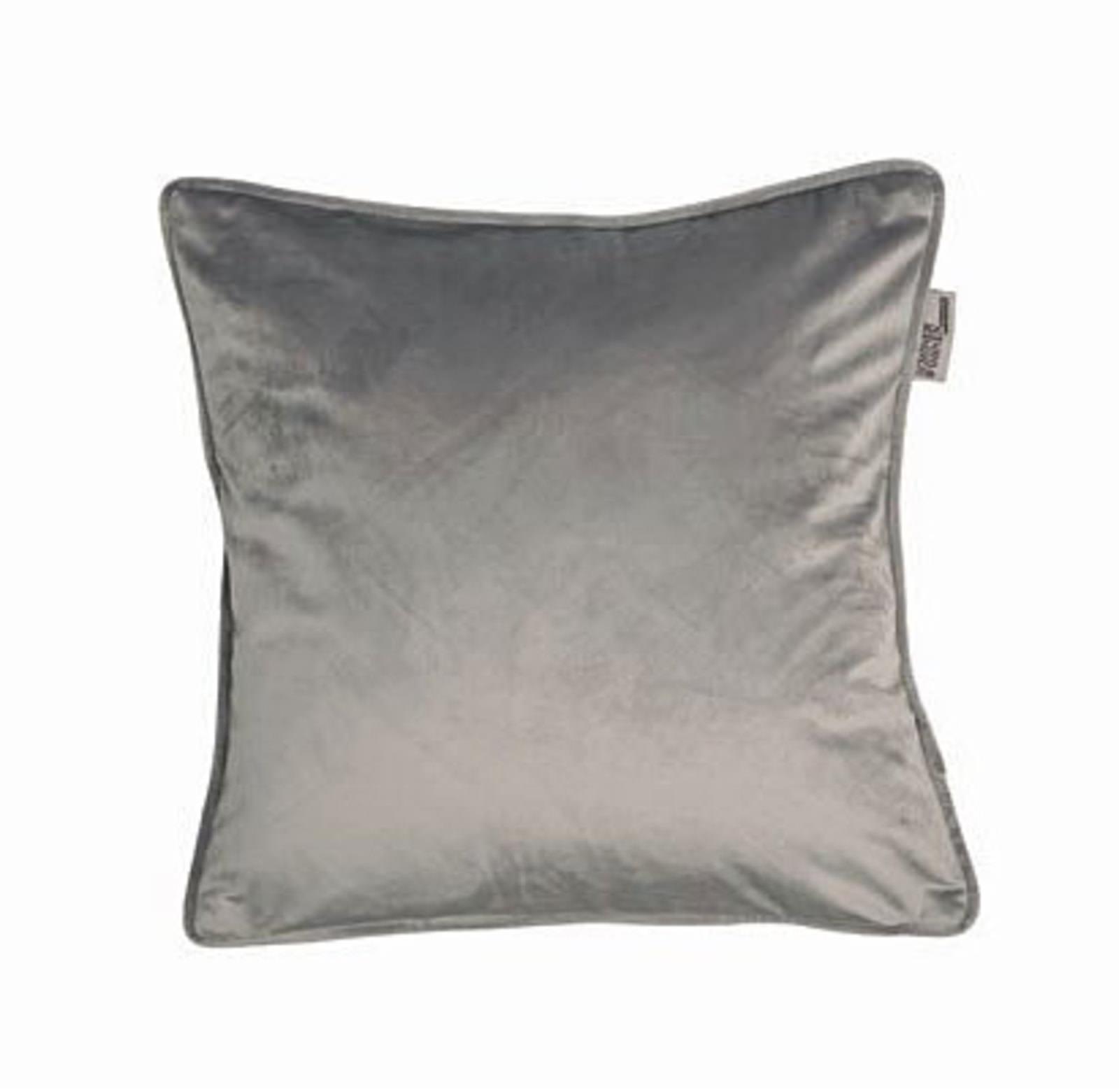 sch ner wohnen kissenh lle grau creme online entdecken schaffrath ihr m belhaus. Black Bedroom Furniture Sets. Home Design Ideas