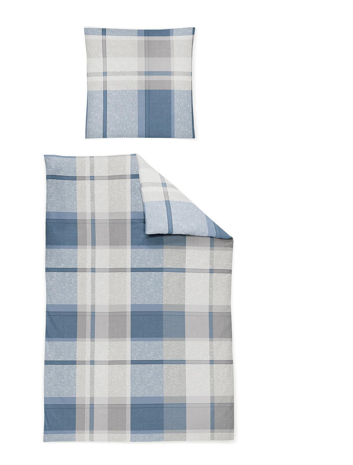 Irisette Soft Jersey Bettwäsche Blau Online Entdecken Knuffmann