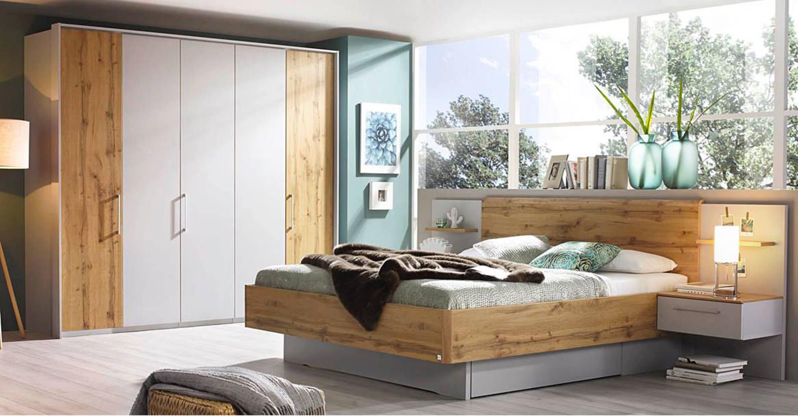 vito Schlafzimmer grau online entdecken | Schaffrath - Ihr Möbelhaus