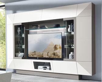 MONDO Wohnwand weiß online entdecken | Schaffrath - Ihr Möbelhaus