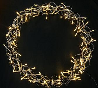 Hellum LED Metall Kranz