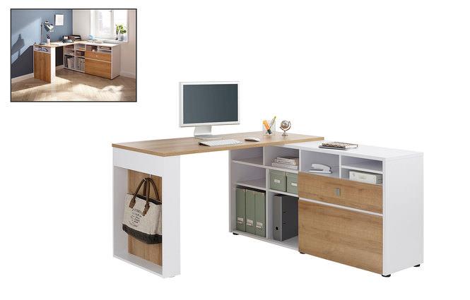 computerschreibtisch online entdecken knuffmann ihr m belhaus. Black Bedroom Furniture Sets. Home Design Ideas