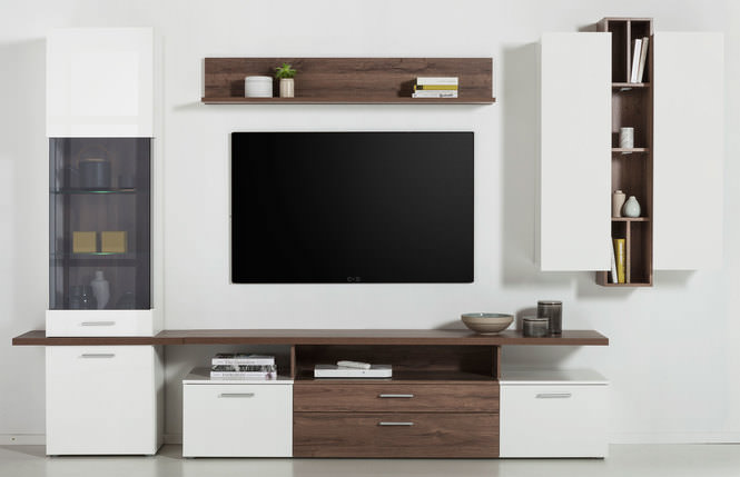 liv 39 in wohnwand 4 tlg online entdecken knuffmann ihr m belhaus. Black Bedroom Furniture Sets. Home Design Ideas