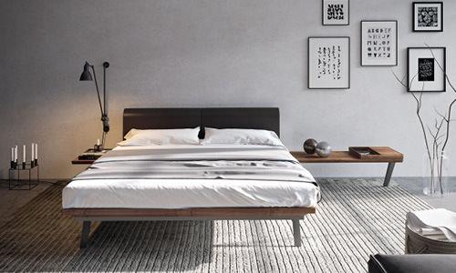 Das Bett Definiert Den Stil Des Zimmers