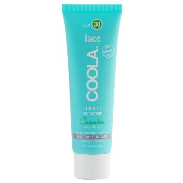 Mineral Face Sunscreen Matte Cucumber SPF 30