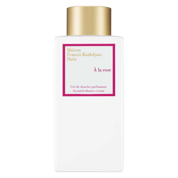 A La Rose Scented Shower Cream