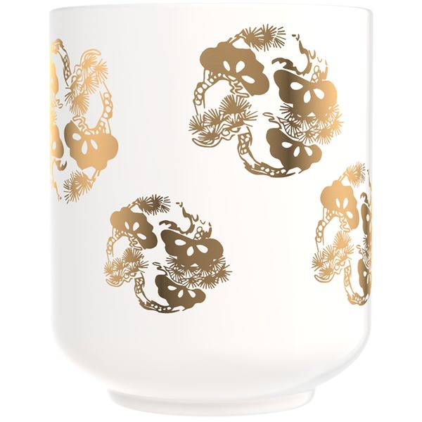 Tea Cup Mimosa Candle