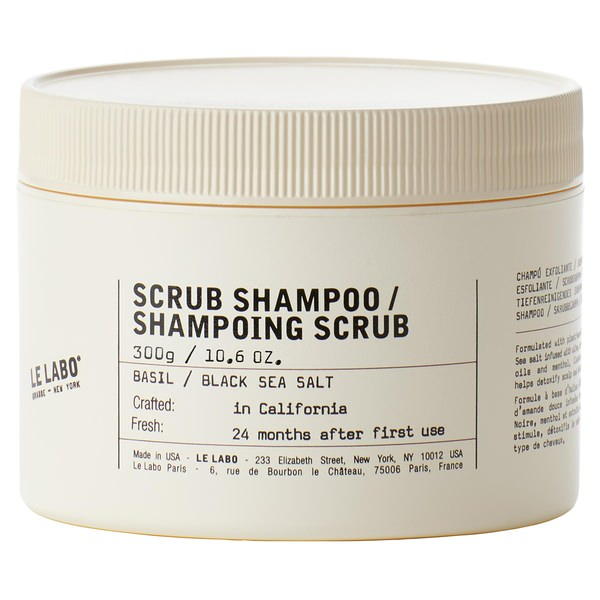Basil Scrub Shampoo