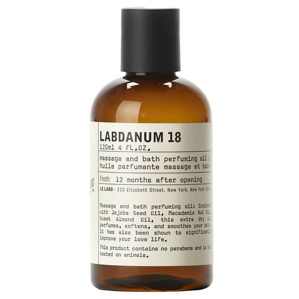Labdanum 18 Body Oil