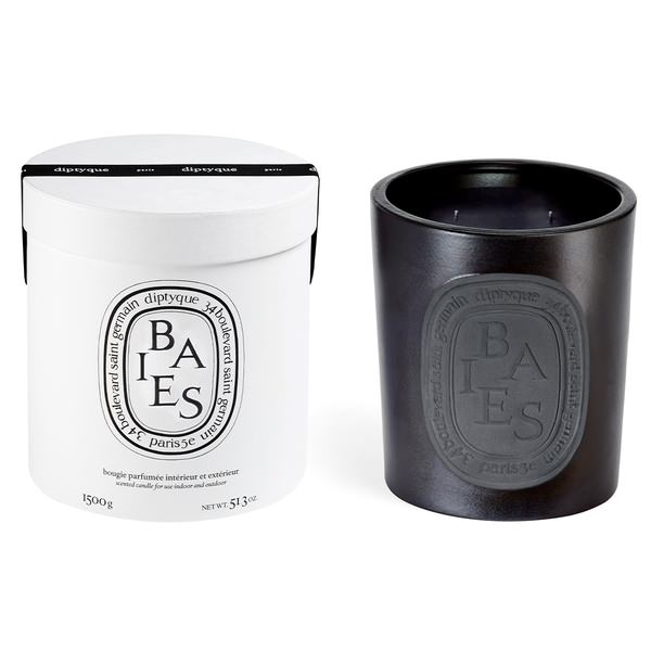Giant Scented Candle Baies Noire