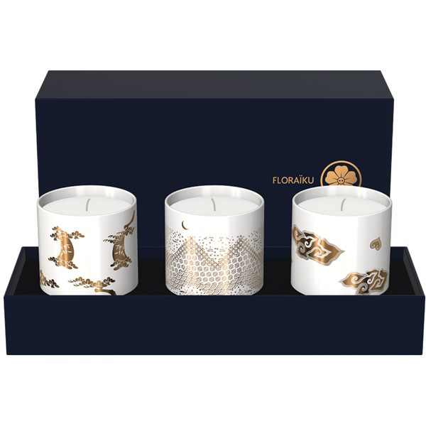 Secret Teas Gift Set of Scented Candles