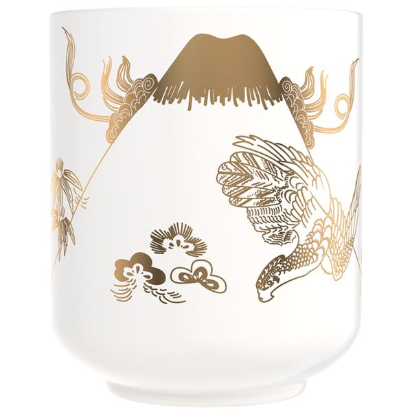 Candle Tea Cup Cherry Blossom