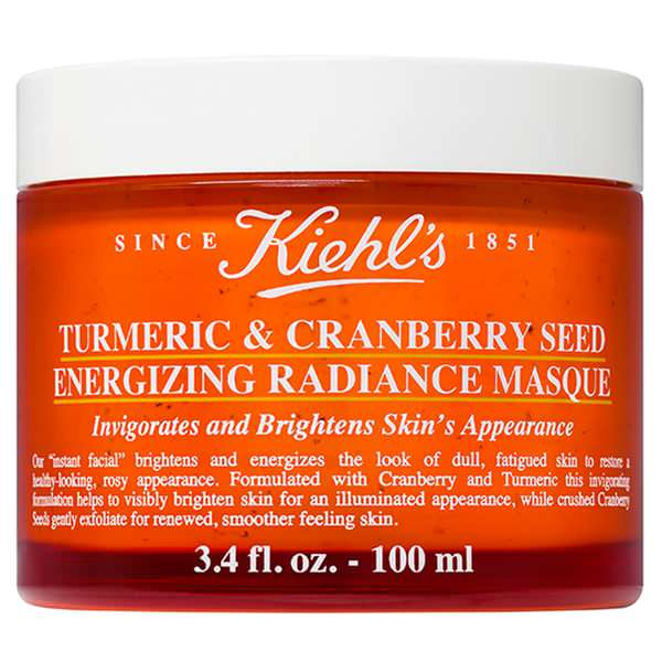 Turmeric and Cranberry Seed Energizing Radiance Masque