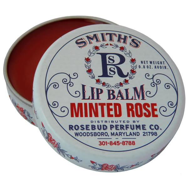 Rosebud Salve Minted Rose Lip Balm