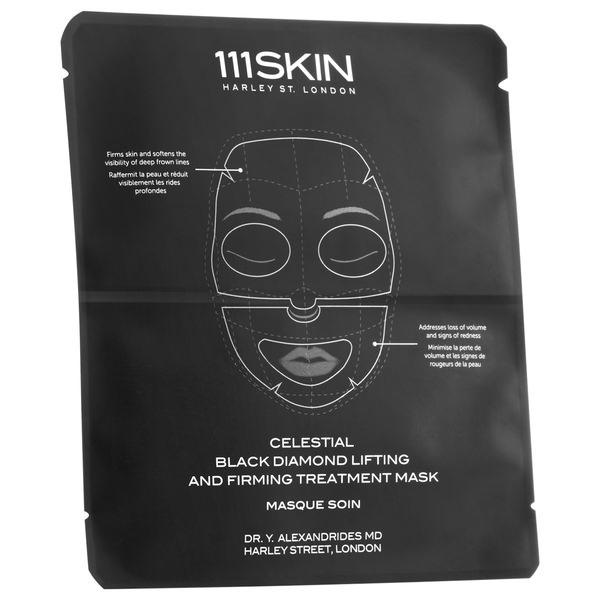 Celestial Black Diamond Single Mask Face