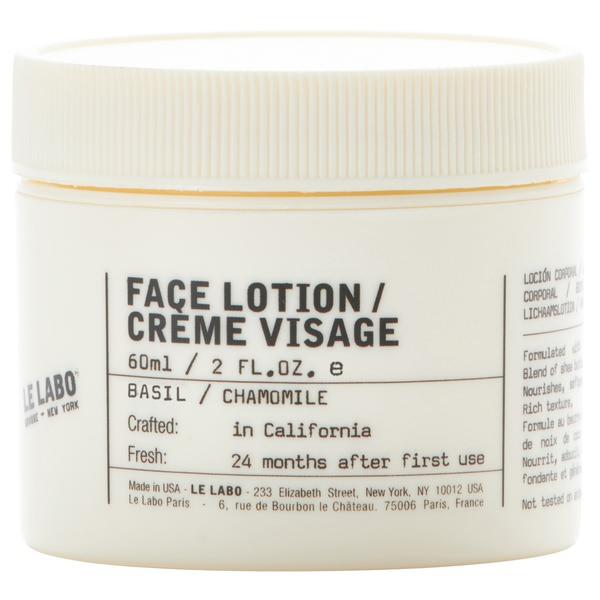 Basil Face Lotion