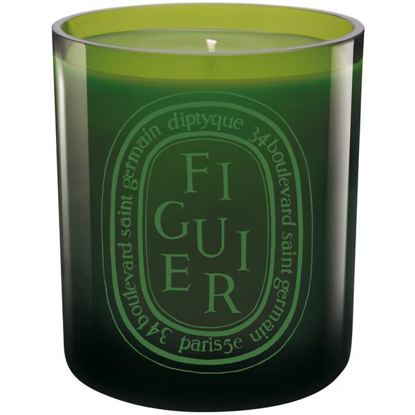 Colored Scented Candle Figuier