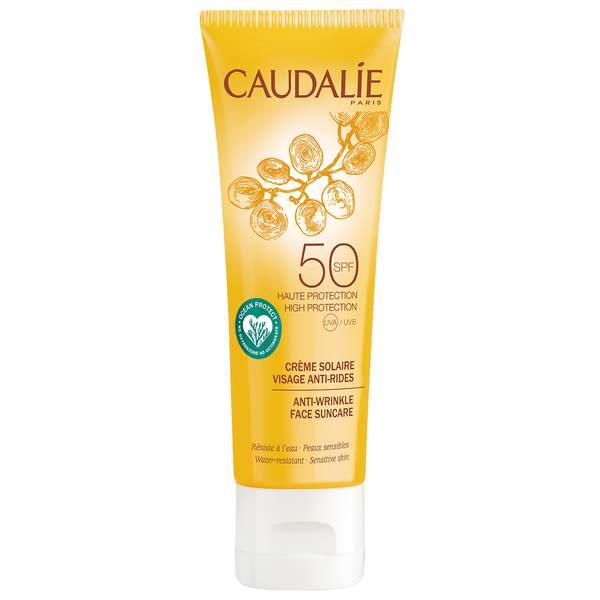 Crème Solaire Visage Anti Rides SPF50