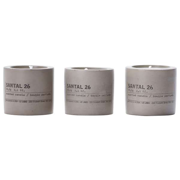 Santal 26 Concrete Candles