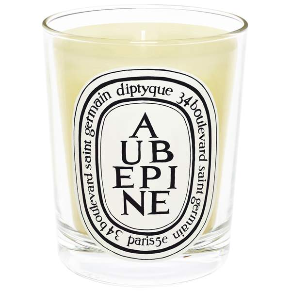 Aubepine Scented Candle