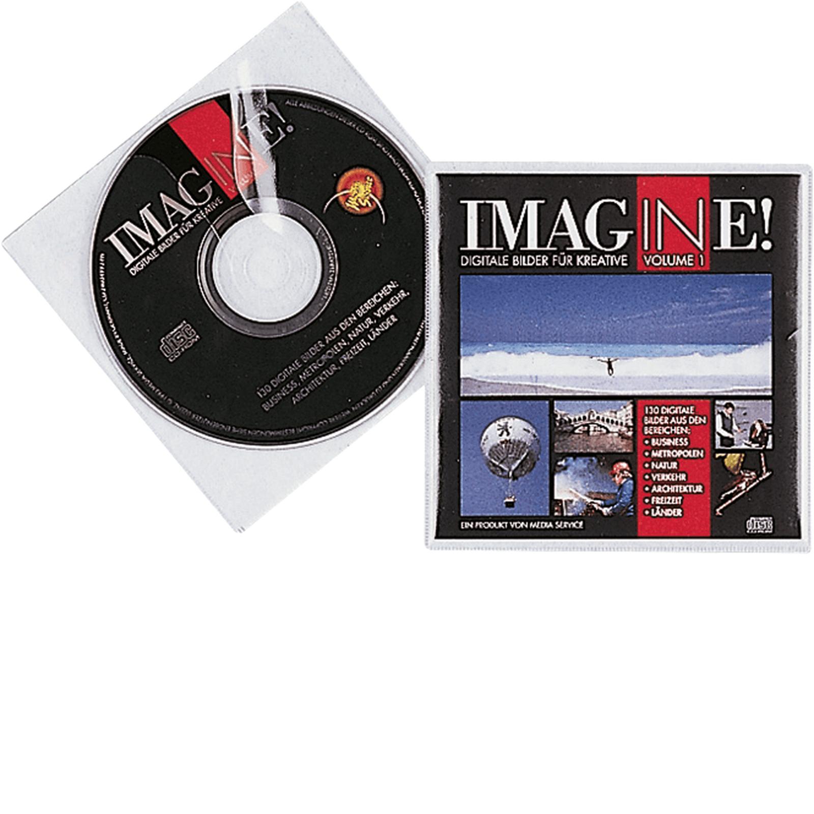 durable cd dvd h llen pp 5202 19 transparent inhalt 10 st ck. Black Bedroom Furniture Sets. Home Design Ideas