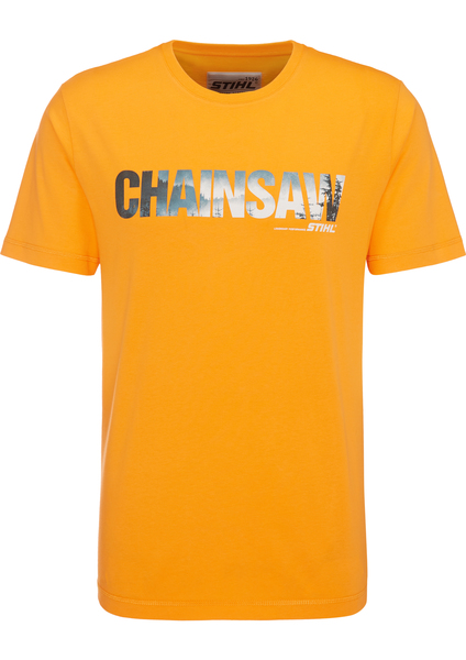 T-Shirt CHAINSAW, Orange