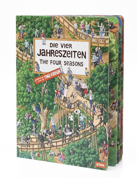 Wimmelbuch - Die vier Jahreszeiten