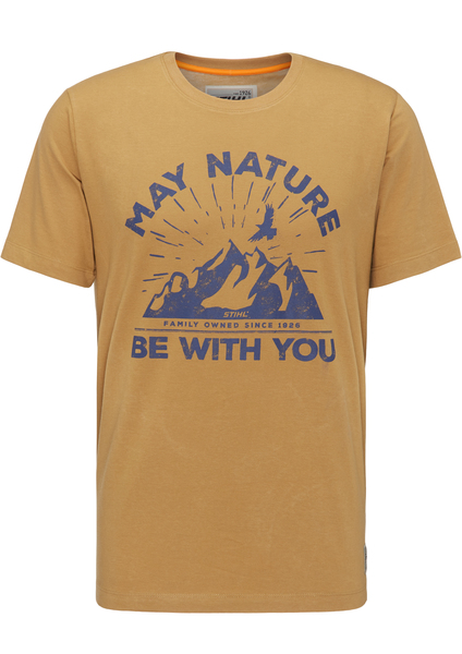 T-Shirt MAY NATURE, Sand