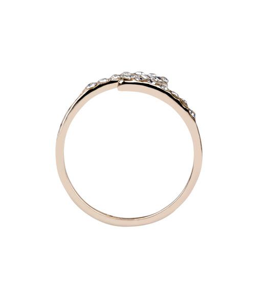 Geschwungener Ring Gr. 58