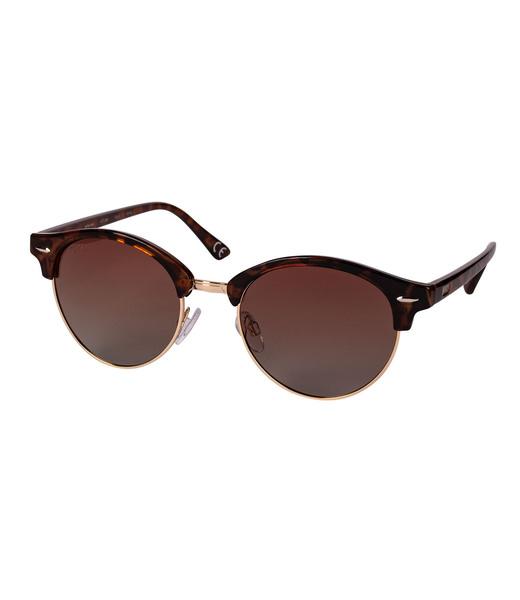 Clubmaster Sonnenbrille - braun