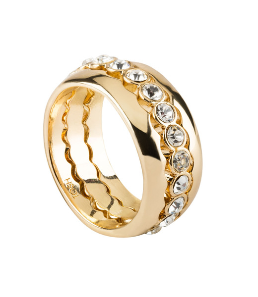 Stacking Ring mit Strass Gr. 58