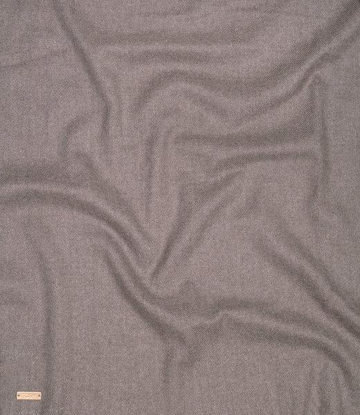 Feinstrick Schal grau
