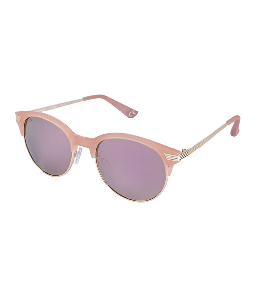 Rosa Clubmaster Sonnebrille