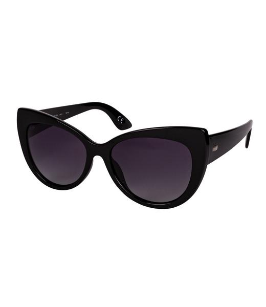 Große Cat-Eye-Sonnenbrille