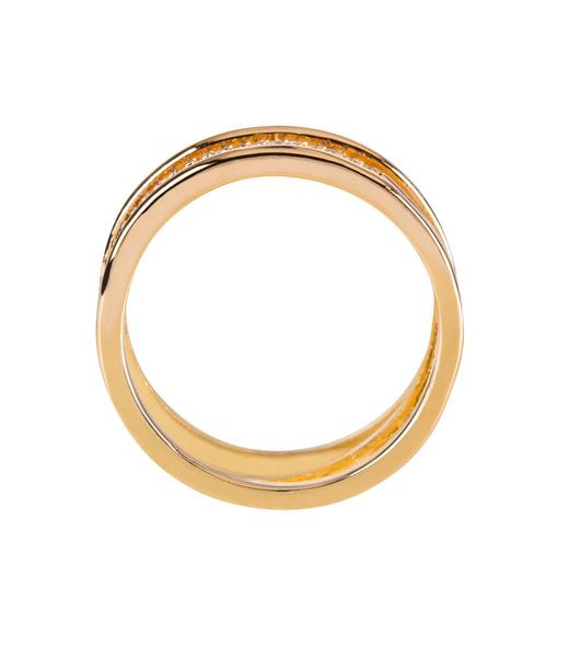 Filigraner Ring mit drei Reihen Gr. 56