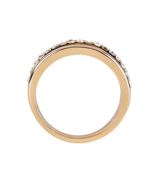Stacking Ring mit Strasssteinen Gr. 58