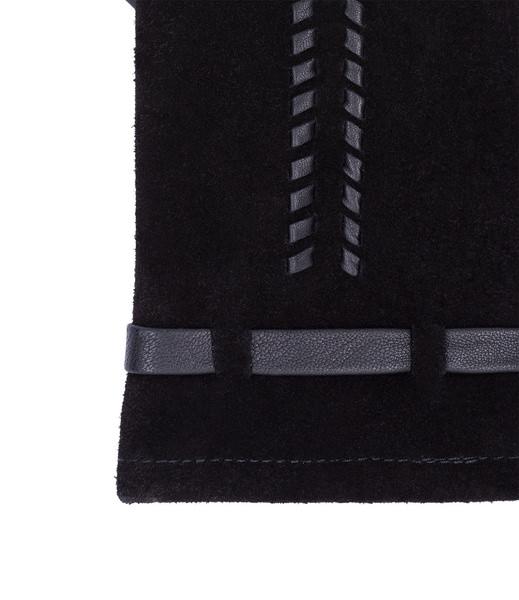 Lederhandschuhe schwarz Gr. S