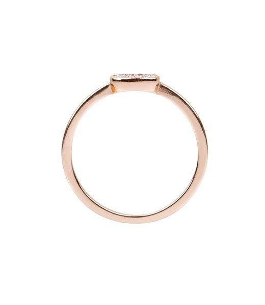 925er Silber Ring Gr. 52 - Vergoldet