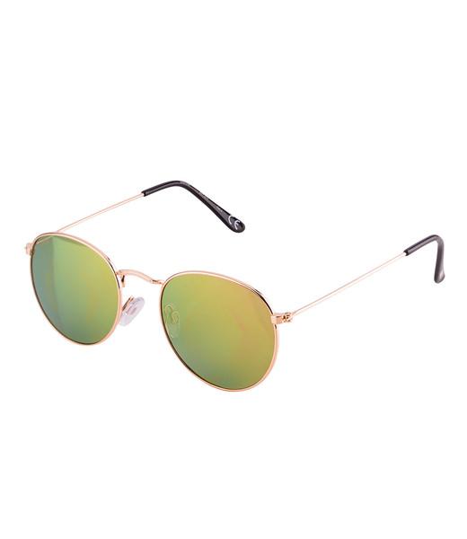 Verspiegelte grüne Sonnenbrille