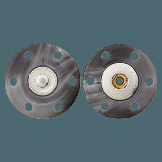 Druckknopf Metalldruckknopf 25mm  UK 59217