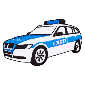 Applikation Polizeiauto