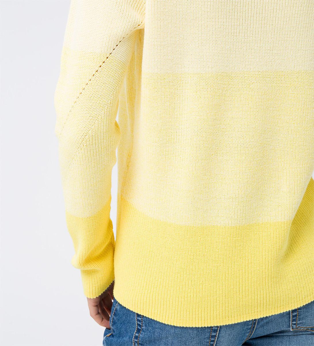 Pullover mit Farbverlauf in vanilla ice