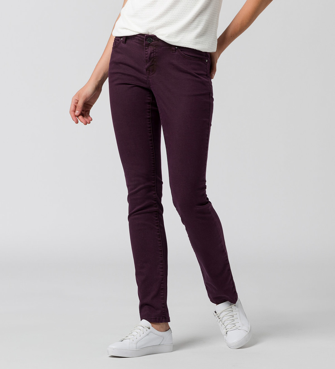 Jeans Seattle 32 Inch plum