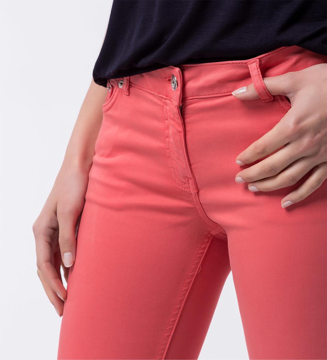 Hose im Five-Pocket-Design in soft melon