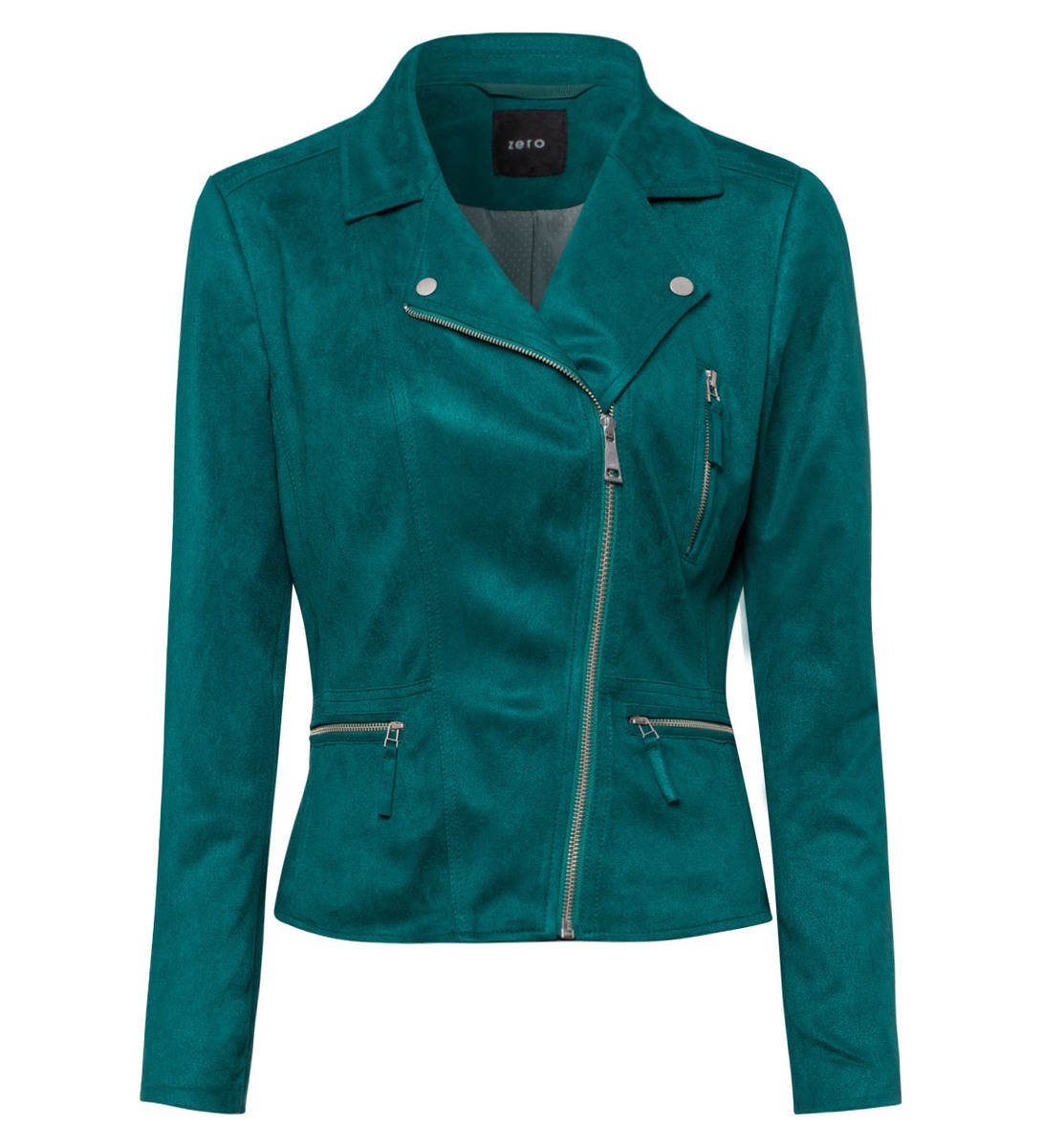 Jacke im Biker-Look in ivy green